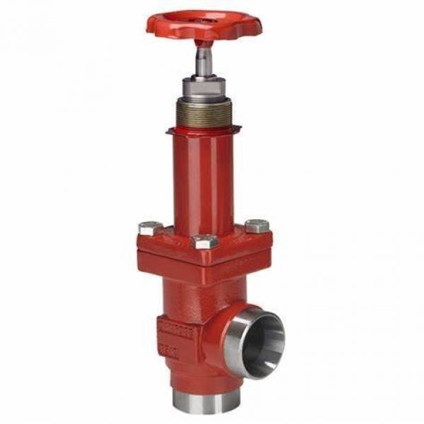 Danfoss Shut-off valves 148B4618 STC 125 A ANG  SHUT-OFF VALVE CAP #1 image